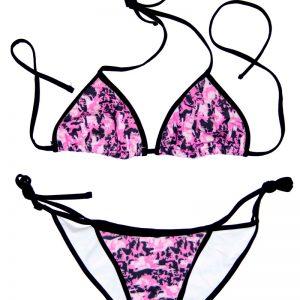 """Hidden Series"" Pink Camo String Bikini - Swim Rags Swimwear"