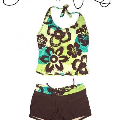 Flower Child Tankini Bikini - Swim Rags Swimwear