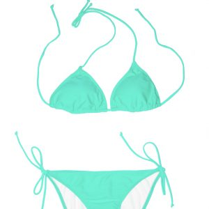 Swim Rags Mint Kisses Green Bikini