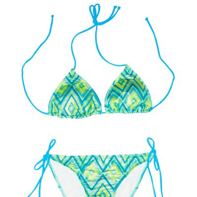 Swim Rags Diamond Tribal Bikini