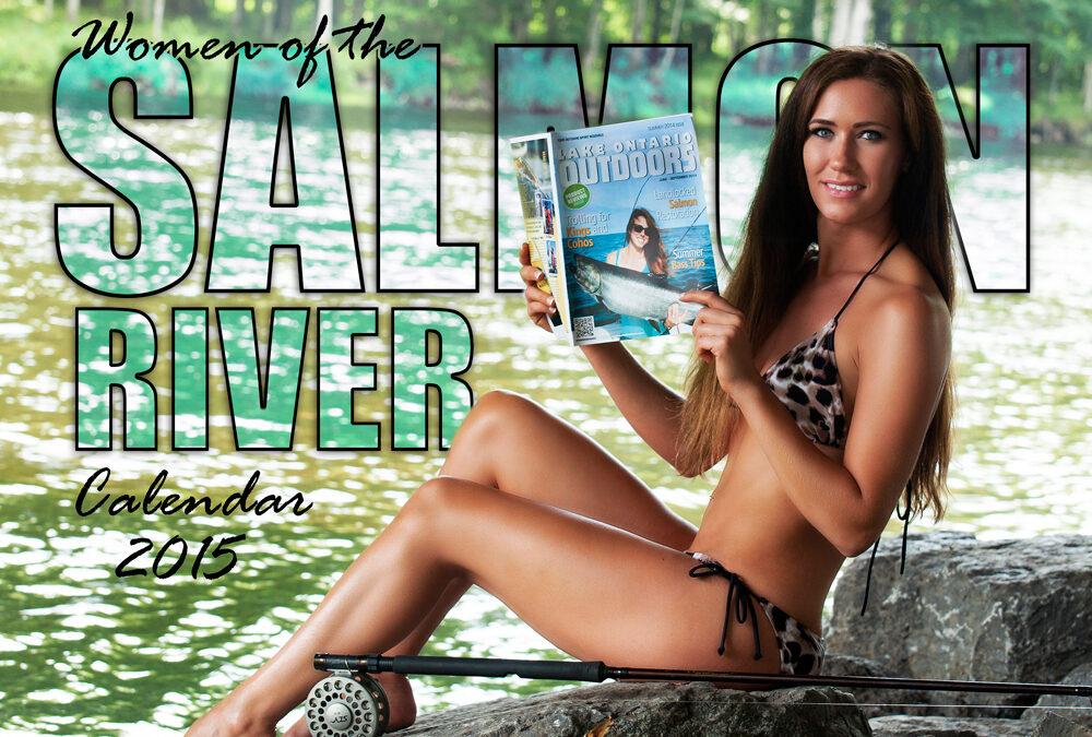 Get Hooked on the Women of Salmon River Bikini Calendar