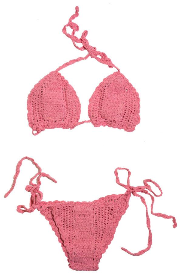 Pink Passion Crochet Bikini