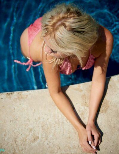 Model Danielle for Swim Rags