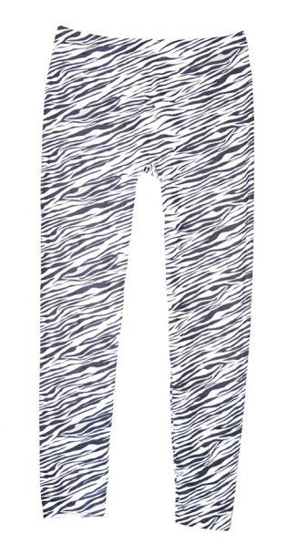Zebra Striped Leggings | Swim Rags