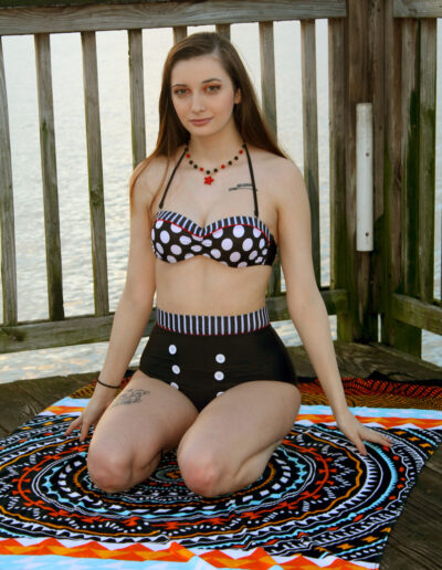 Swim Rags Bikini Model Breana