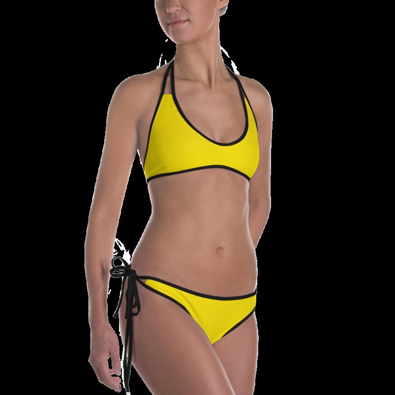 Brilliant Yellow Bikini by Swim Rags Swimwear