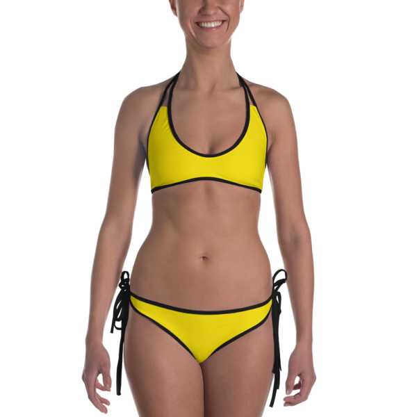 Brilliant Yellow Bikini by Swim Rags Swimwear