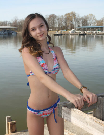 Swim Rags Teen Bikini Model Faith