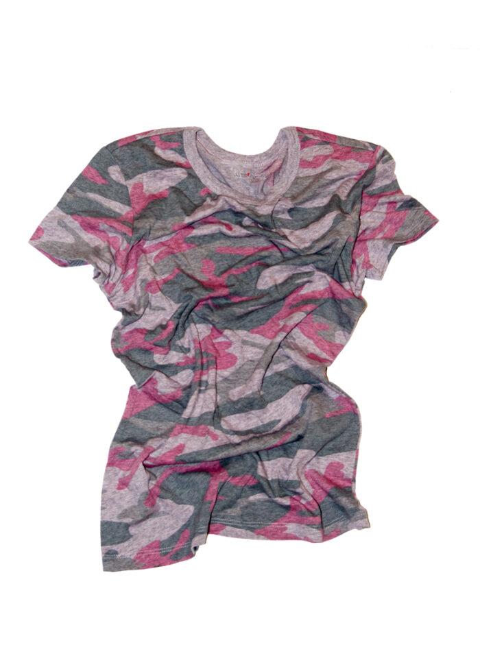Classic Pink Camo Tee Shirt