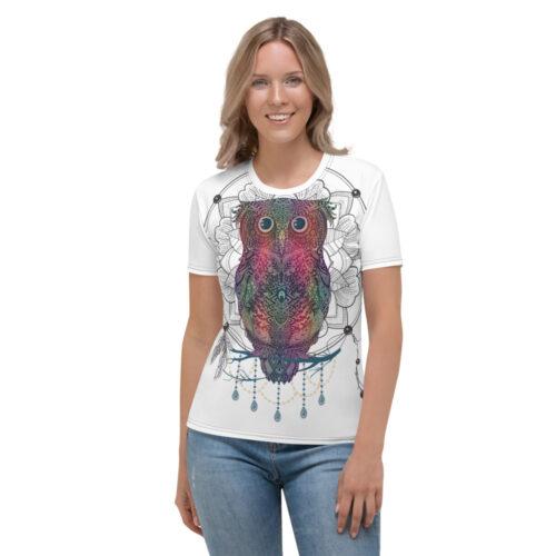 Night Owl Women's T-shirt by Swim Rags