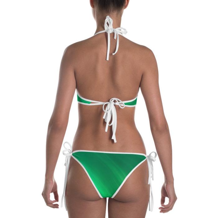 Polished Green Emerald Bikini