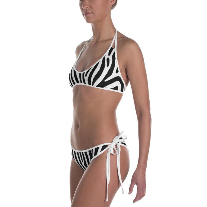 Zebra Stripes Safari Bikini