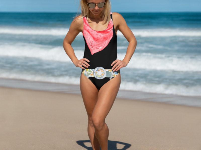 Deputy Sheriff One-Piece Swimsuit by Swim Rags