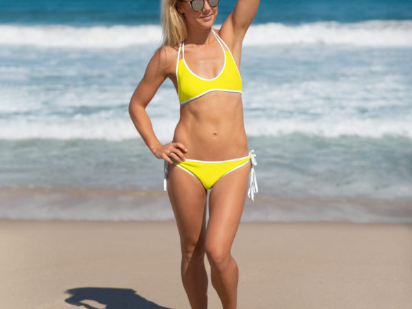 Canary Yellow Bikini by Swim Rags