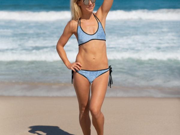 Denim Jean two-piece Bikini