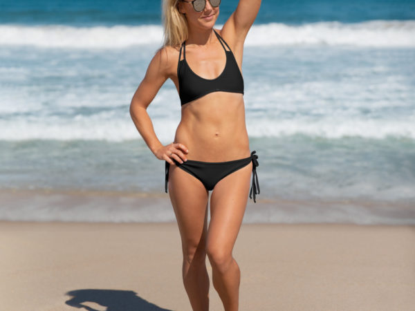 Black Two-piece Bikini