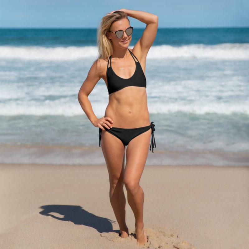 Black Two-piece Bikini