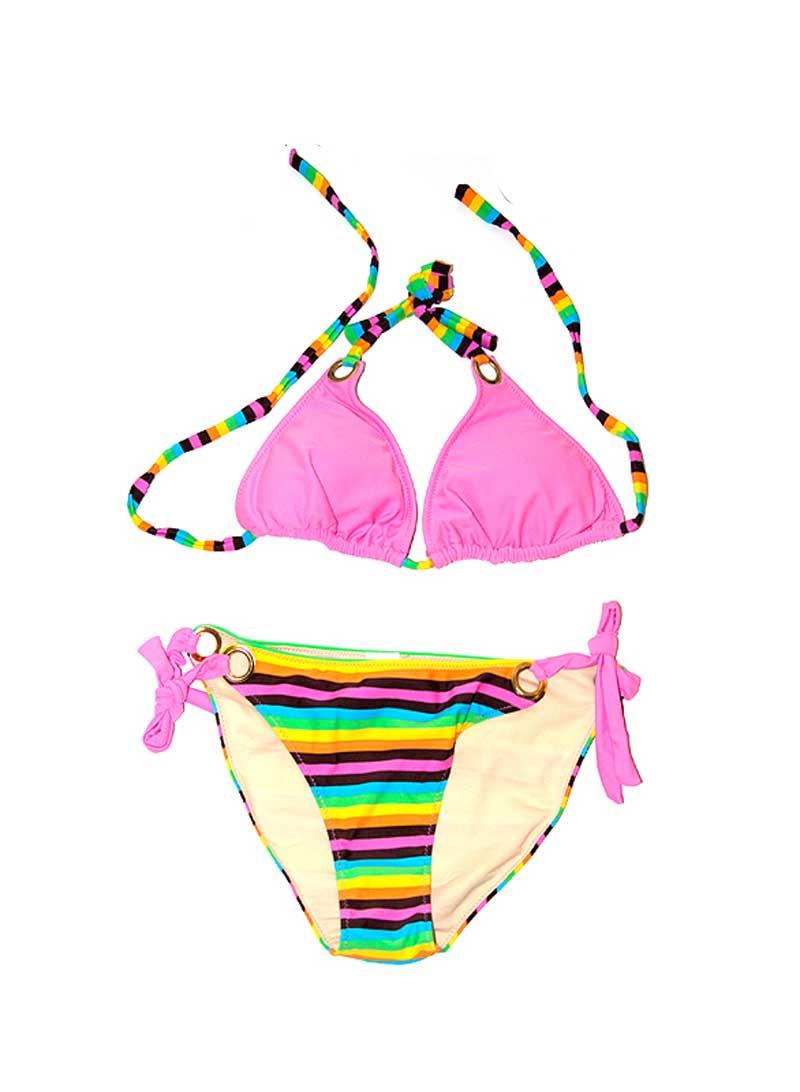 Candy Stripes Bikini by Swim Rags