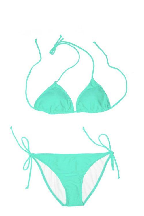 Mint Kisses Green Bikini by Swim Rags