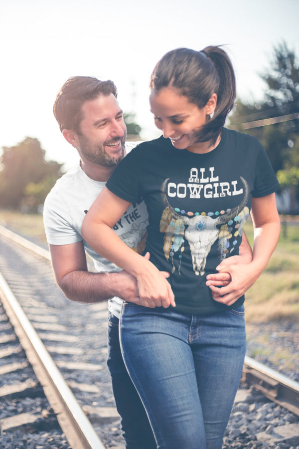 Swim Rags All Cowgirl t-shirt couple
