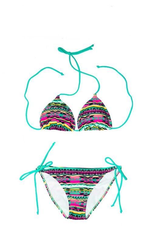 Vibrant Tribal Bikini by Swim Rags