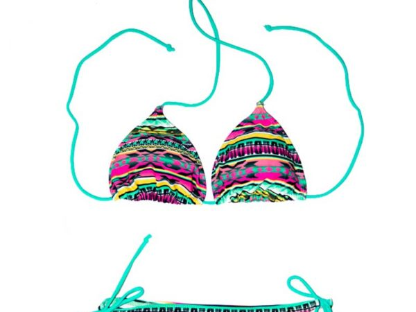 Vibrant Tribal Bikini by Swim Rags