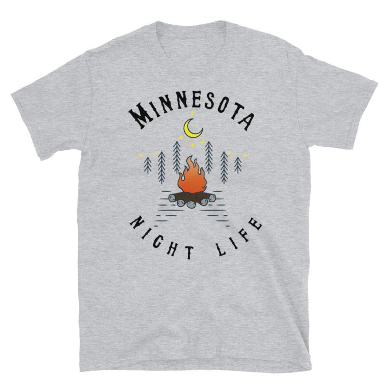 Minnesota Short-Sleeve T-Shirt Sport Grey