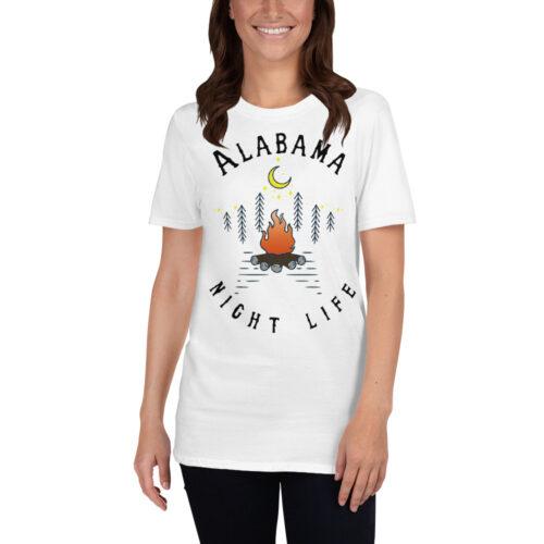Alabama Short-Sleeve T-Shirt White