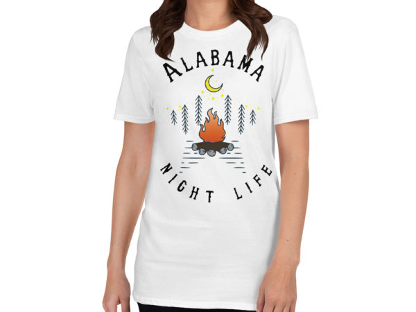 Alabama Short-Sleeve T-Shirt White
