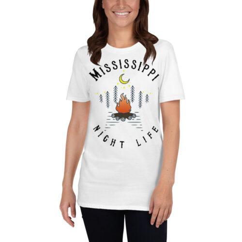 Mississippi Short-Sleeve T-Shirt White