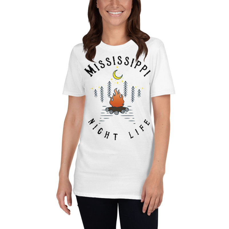 Mississippi Short-Sleeve T-Shirt White