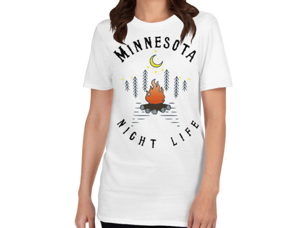 Minnesota Short-Sleeve T-Shirt Sport White