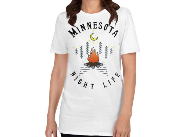 Minnesota Short-Sleeve T-Shirt Sport White
