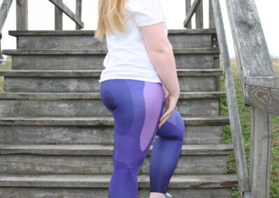 Teen Model Desna Shows of Swim Rags Camo Leggings (19)