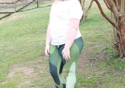 Teen Model Desna Shows of Swim Rags Camo Leggings (22)