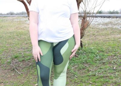 Teen Model Desna Shows of Swim Rags Camo Leggings (24)