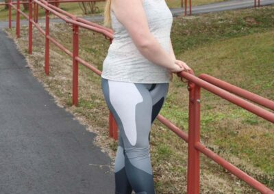 Teen Model Desna Shows of Swim Rags Camo Leggings (43)