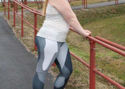 Teen Model Desna Shows of Swim Rags Camo Leggings (45)