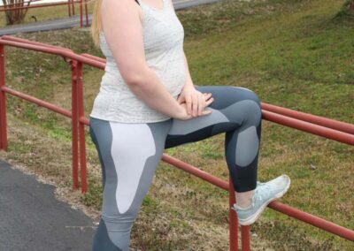 Teen Model Desna Shows of Swim Rags Camo Leggings (49)