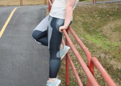 Teen Model Desna Shows of Swim Rags Camo Leggings (54)