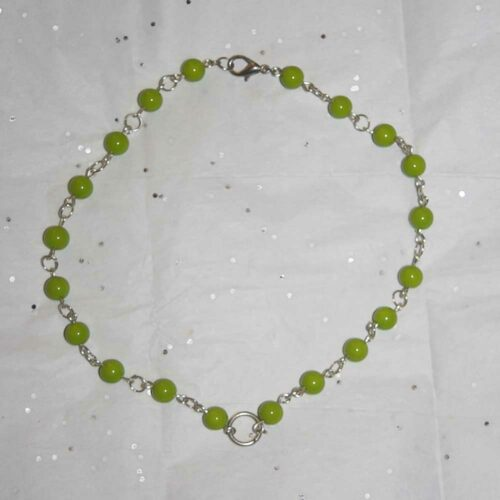 Lime Candy Necklace