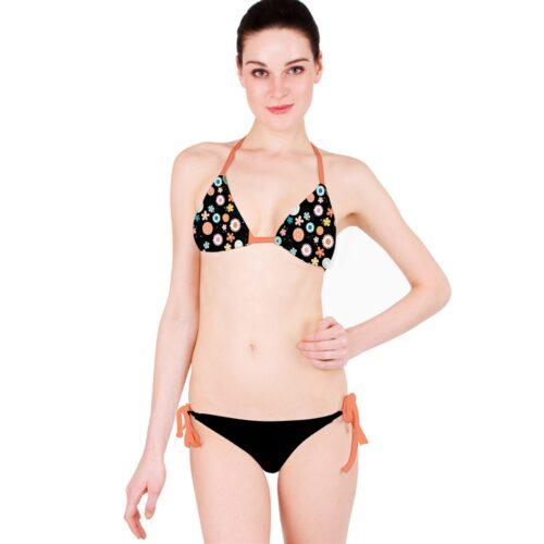 Flower Child Classic Bikini Set Two Piece Swimwear By Swim Rags (1)