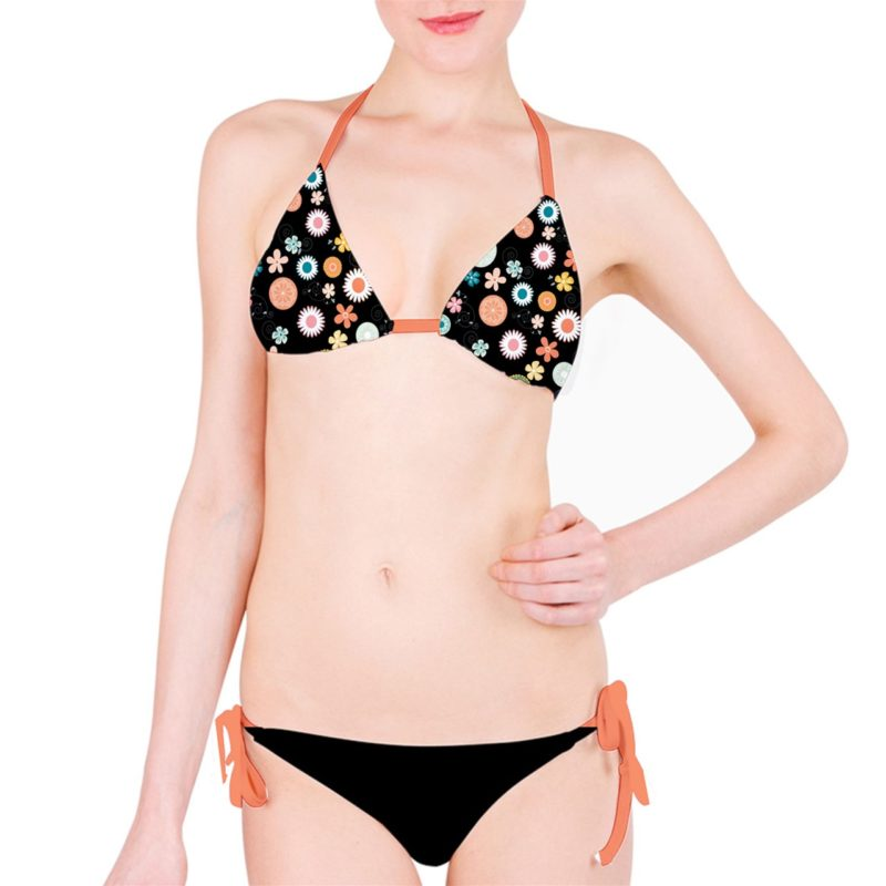 Flower Child Classic Bikini Set Two Piece Swimwear By Swim Rags (2)