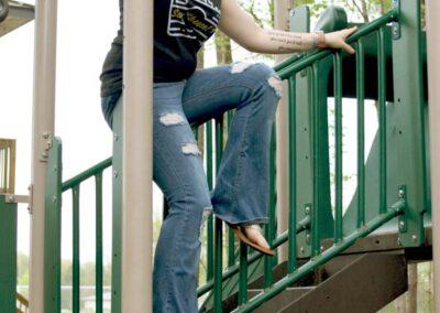 Teen Model Chantel Modeling Tee Shirts Leggings and Bikini for Swim Rags (14)