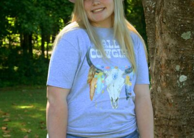 Teen Model Desna Models All Cowgirl Tee Shirt from Swim Rags (2)