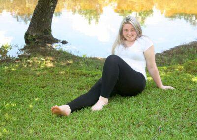 Desna Plus Size Teen Model Legging and Tee Shirt Swim Rags (4)